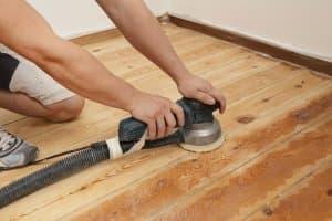 реставрация деревянного пола
